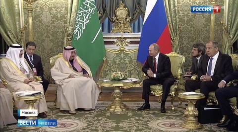 Король Сальман был счастлив побывать в России