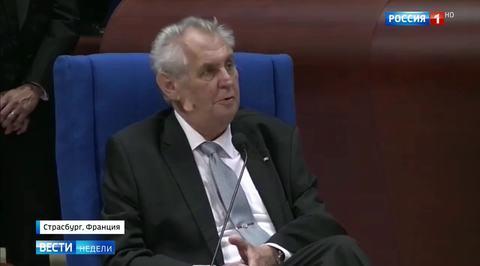 Милош Земан призвал признать присоединение Крыма как свершившийся факт
