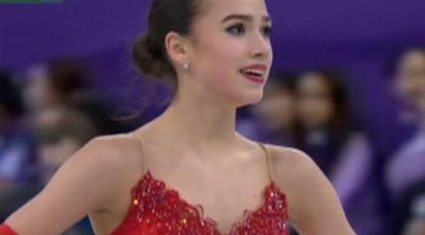 Первое олимпийское золото принесла России фигуристка Алина Загитова