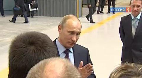 Президент посетил Уралвагонзавод