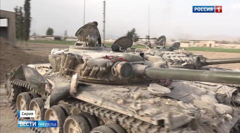 Сирийские ловушки: боевики бьют по днищам танков из РПГ