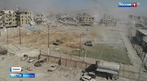 До освобождения юга Дамаска осталось недолго