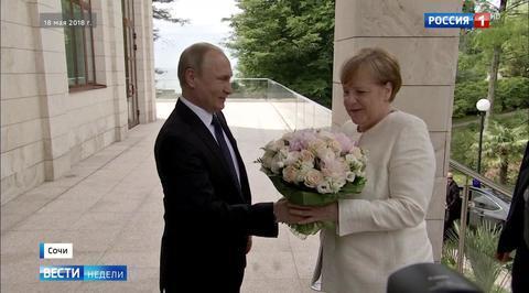 Встреча с Путиным стала для Меркель глотком свежего воздуха
