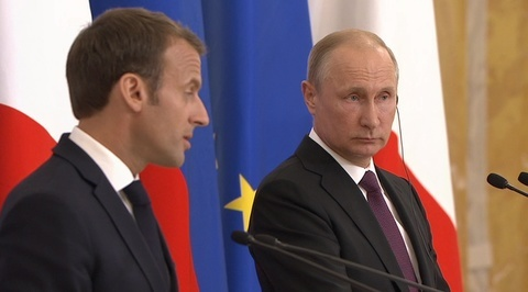 Макрон: Париж признает новую роль России в международных отношениях