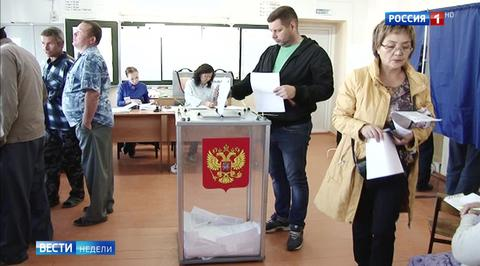 Выборы в России: первые результаты
