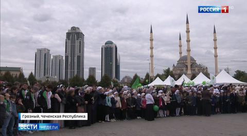 200-летие Грозного: фестиваль культуры и спорта и массовая свадьба