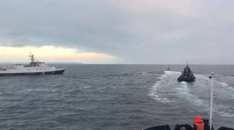 Украинские корабли-нарушители задержаны