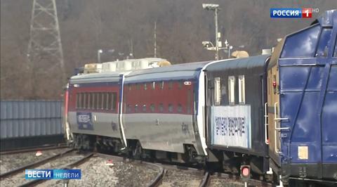 Большой проект: первый за десять лет поезд отправился из Южной Кореи в КНДР