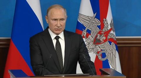 Путин: Россия легко возродит наземные ракеты, если Штаты выйдут из ДРСМД
