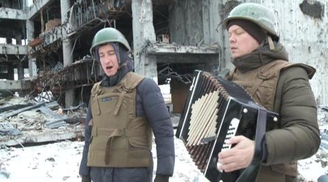 Фронтовая музыка Донбасса: российские артисты помогают ополченцам укреплять боевой дух