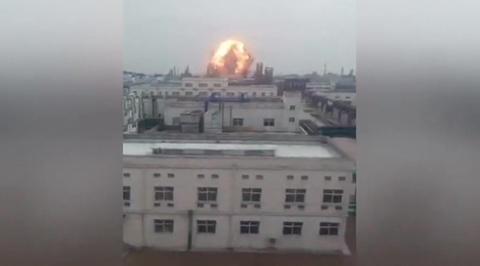Взрыв в Китае. В больницах находятся более 600 человек