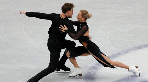 Фигуристы Синицина и Кацалапов выиграли серебро чемпионата мира