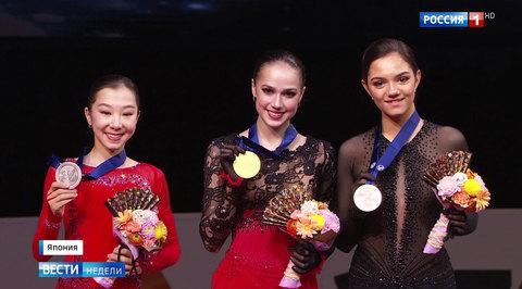 Загитова стала чемпионкой мира, опередив конкуренток на десять очков