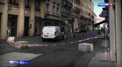 Взрыв в Лионе: заминированный сверток подбросил велосипедист