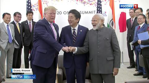 G20: дружелюбие Путина, кулак Трампа и курьез с Меркель