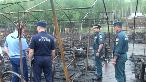 Минздрав РФ: в сгоревшем лагере пострадали 5 взрослых и 6 детей