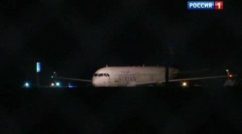 Турция задержала сирийский самолет