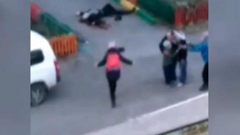 Читинец зарезал жену на глазах у детей