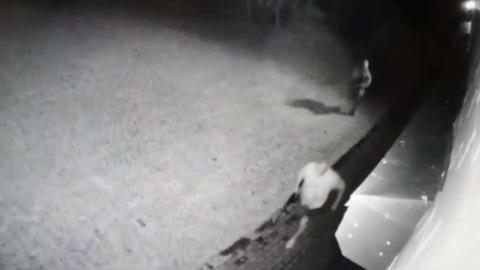 Камера сняла последние секунды жизни бывшего мэра Киселевска