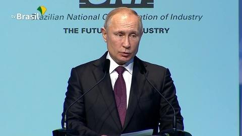 Выступление Владимира Путина на Деловом форуме БРИКС