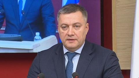 Полпред Меняйло представил Кобзева иркутским депутатам и правительству