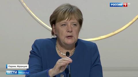 Меркель вскрыла антироссийские