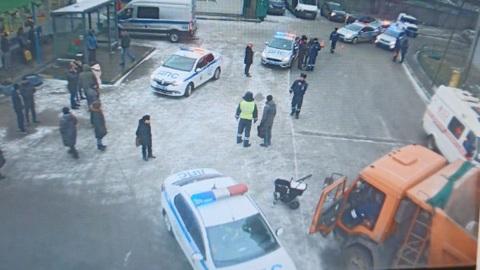 Последствия наезда КамАЗа на детей в Котельниках сняли на видео
