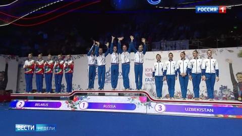 Гран-при по художественной гимнастике в Москве: россянки заняли первые места во всех упражнениях