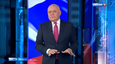 Киселёв прокомментировал возбуждение британцев от слов Путина