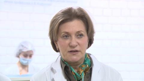 Минниханов и Попова побывали в больнице, где размещены россияне с Diamond Princess