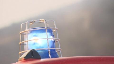 В Российской детской клинической больнице произошел пожар