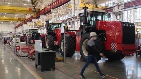 Ростсельмаш увеличивает производство сельхозтехники