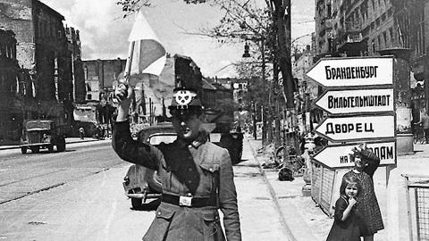 Фото Ильи Аронса, Берлин 1945