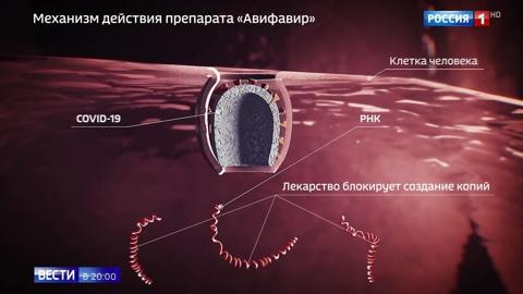 В России выпущен первый и самый мощный препарат от COVID-19