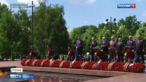 В парке Победы в Узбекистане отражен  каждый этап войны
