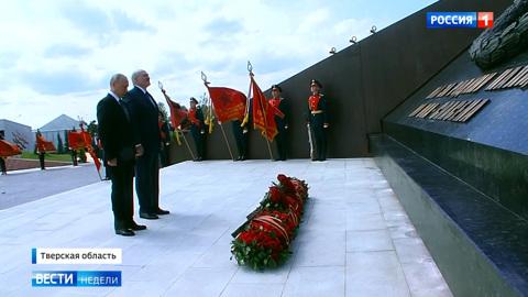 Особое волнение и трогательный момент: церемония с участием Путина и Лукашенко