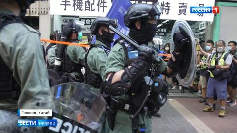Режиссеры гонконгского бунта даже не пытаются маскироваться