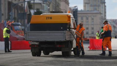 Ремонт дороги начнётся сегодня на участке Тверской и 1-й Тверской-Ямской улиц в Москве