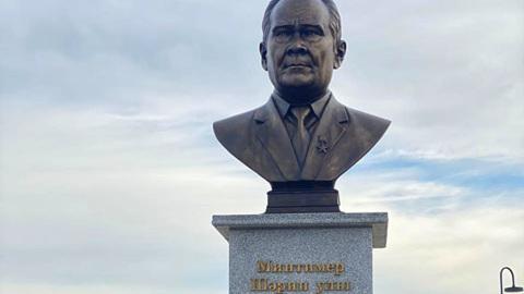 В Татарстане открыли бронзовый бюст первому Президенту РТ Минтимеру Шаймиеву
