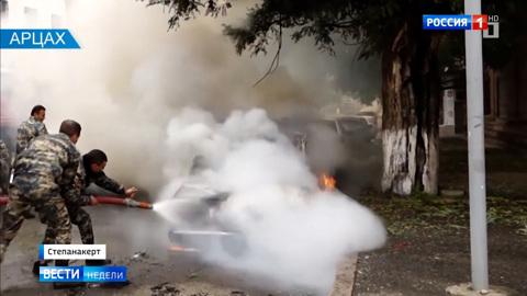 Степанакерт бомбят запрещенными боеприпасами