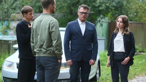 """Дятлов и Филоненко рассказали о своих героях в детективе """"Подражатель"""""""