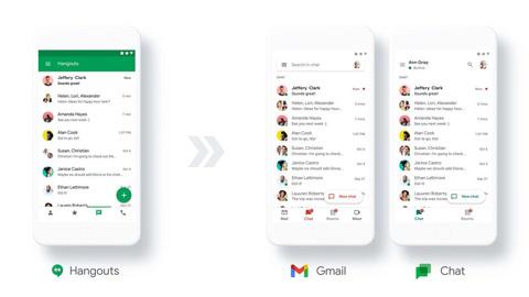 Google сделает свой аналог Slack бесплатным