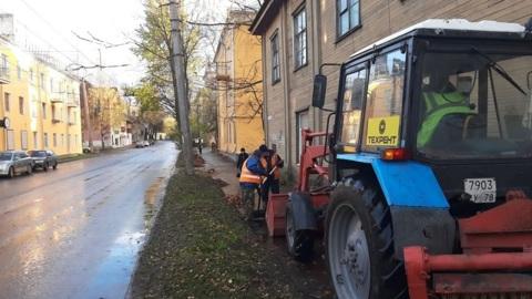 В Петрозаводске подрядчика повторно оштрафовали за уборку городских улиц