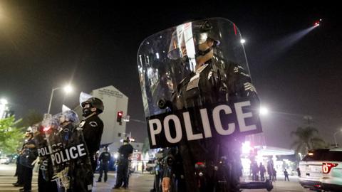 Захват заложника в Лос-Анджелесе закончился гибелью преступника
