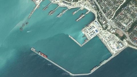 Отряд кораблей ВМС Египта впервые зашел в Новороссийск
