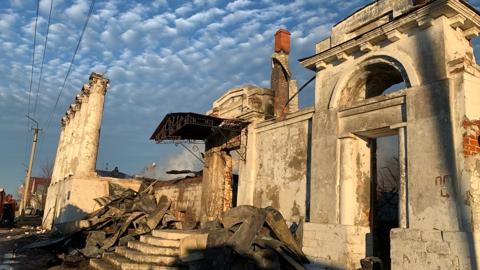 В Касимове сгорел памятник федерального значения дом Барковых