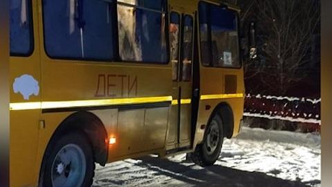 В Башкирии школьный автобус наехал на второклассника