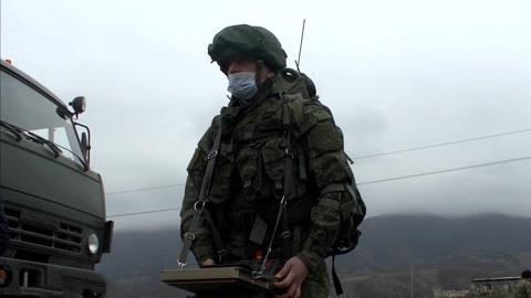 Россия задействовала роботов для разминирования Карабаха