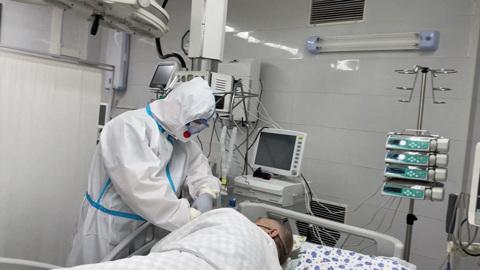 В России свободны 24% коечного фонда для пациентов с COVID-19