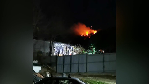 В Туапсинском лесничестве зафиксирован пожар